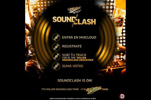 PQ implementa para Miller Genuine Draft la plataforma Global Soundclash, en Argentina.