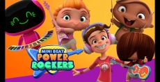 Tortugas Open Mall, Discovery Kids, DirecTV y Banco Supervielle Invitan a celebrar el día del niño junto a los Mini Beat Power Rockers